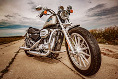 Harley-Davidson - Sportster 883 bas Photographie stock