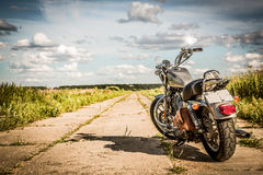 Harley-Davidson - Sportster 883 Low. RUSSIA-JULY 7, 2013: Harley-Davidson Sportster 883 Low. Harley-Davidson sustains a large brand community which keeps active stock photo