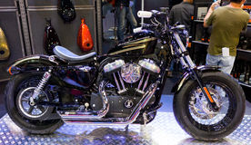 Harley-Davidson Sportster 2014 Motorcycle Royalty Free Stock Image