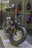 Harley-Davidson Sportster XL 1200X εμπρός - μοτοσικλέτα οκτώ Στοκ Φωτογραφίες