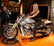 Harley Davidson Stand Royalty Free Stock Image