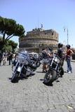 Harley Davidson - 110ste verjaardagsvieringen Stock Foto's