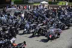 Harley Davidson - 110ste verjaardagsvieringen Stock Afbeelding