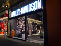 Harley Davidson store Royalty Free Stock Photos