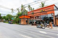 Harley Davidson store Samui Stock Photography