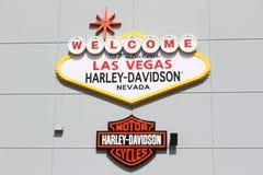 Harley Davidson store Royalty Free Stock Image