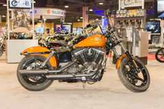 Harley-Davidson Street Bob 2015 Arkivbilder