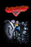 Harley Davidson-teken Royalty-vrije Stock Foto