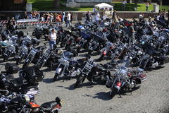 Harley Davidson - 110th anniversary celebrations Stock Image
