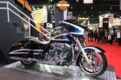 Harley Davidson Touring Motorcycle on display Stock Photo
