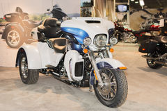 Harley-Davidson Tri Glide Ultra 2015 royalty-vrije stock foto