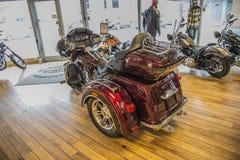 2014 Harley-Davidson, Triglide εξαιρετικά Στοκ φωτογραφίες με δικαίωμα ελεύθερης χρήσης