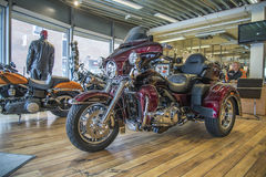 2014 Harley-Davidson, Triglide εξαιρετικά Στοκ Φωτογραφίες
