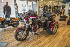2014 Harley-Davidson, Triglide εξαιρετικά Στοκ φωτογραφία με δικαίωμα ελεύθερης χρήσης