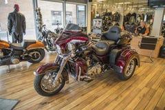 2014 Harley-Davidson, Triglide ultra Foto de archivo libre de regalías