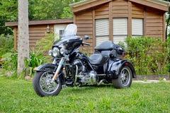 Harley-Davidson Trike Royalty Free Stock Photography