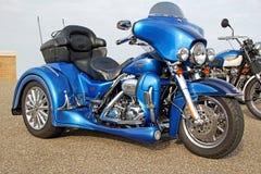 Harley davidson trike cvo 1800 Royalty-vrije Stock Afbeelding