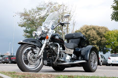 Harley-Davidson Ultra Classic trike Royalty Free Stock Photography