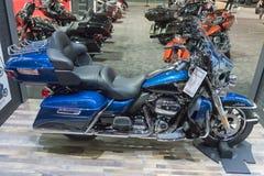 Harley-Davidson Ultra Limited 115. årsdag på skärm Fotografering för Bildbyråer