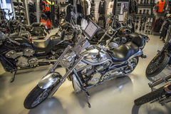 2003 Harley-Davidson, V-штанга Стоковая Фотография RF