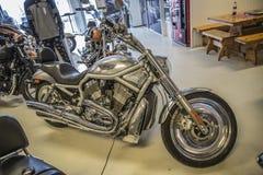 2003 Harley-Davidson, V-barretta Fotografie Stock Libere da Diritti