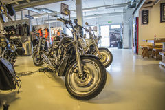 2005 Harley-Davidson, V-barretta Immagini Stock