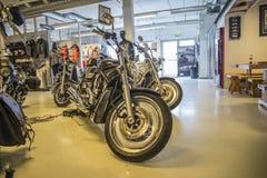 2005 Harley-Davidson, V-stång Arkivbilder