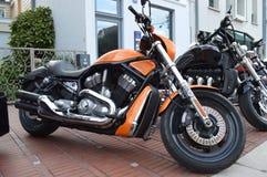 Harley Davidson V-stång motorcykel Royaltyfri Foto