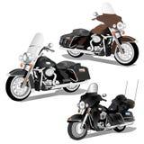 Harley Davidson 3 in 1 Vektor Stockfotografie