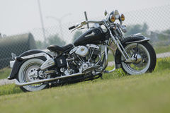 Harley Davidson vintage. Picture of show bike during harley davidson superbike week end 26-27 may 2012 at napierville dragway royalty free stock photography