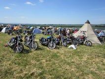 Harley Davidson wiecu Germany super 2012 ballenstedt Obraz Stock