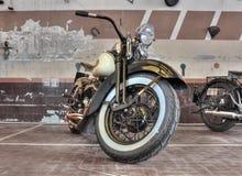 Harley Davidson WL (1941) Stock Photos