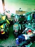Harley Davidsons Stockfotografie