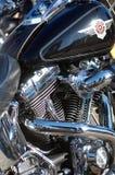 Harley engine stock image