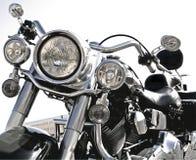 Harley freddo Fotografia Stock Libera da Diritti
