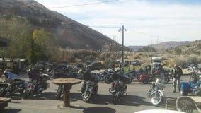 Harley Hangout Fotografia de Stock