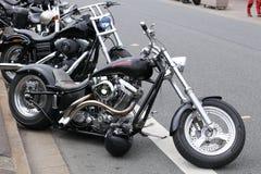 Harley inställning Royaltyfri Foto