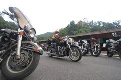 Harley-Liebhaberversammlung Stockfoto