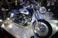 Harley motor bike Royalty Free Stock Images