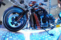 Harley motor bike Stock Photos