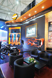 Harley motor bike pavilion Royalty Free Stock Photo