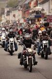 Harley parada Zdjęcia Stock