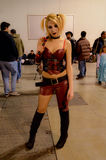 Harley Quinn at Cartoomics 2015 Stock Photos