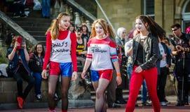 Harley Quinn cosplay Стоковая Фотография RF
