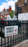 Harley Street London Royalty Free Stock Images