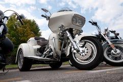 Harley trike Davidson Obraz Royalty Free