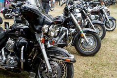 Harley-wheels Royalty Free Stock Photos