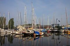 harlingen καναλιών Στοκ Εικόνα