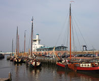 Harlingen Harbour Stock Photos