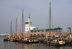 Harlingen Harbour Royalty Free Stock Photos